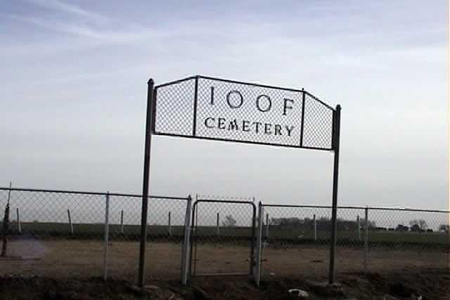 IOOF Cemetery Gate