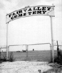 Fairvalley Cemetery Gate Entrance