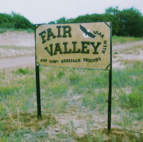 Fairvalley 1997 Sign