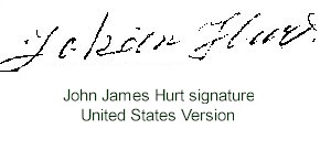 John James Hurt's USA version